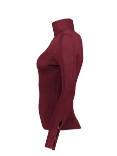 onliza l/s rollneck pullover knt 15183626 only trui tawny port