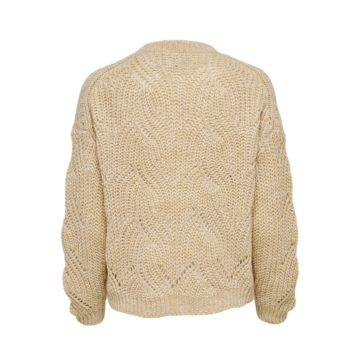 onlhavana l/s pullover knt noos 15187600 only trui pumice stone