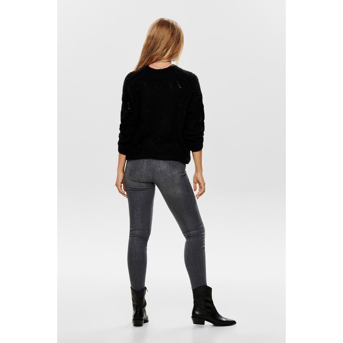 onlhavana l/s pullover knt noos 15187600 only trui black