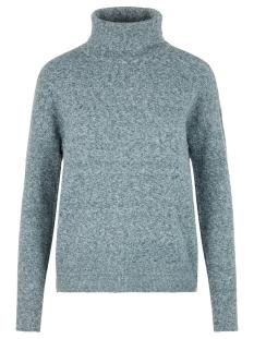 vmdoffy ls rollneck blouse 10215521 vero moda trui ponderosa pine/melange