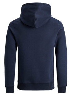 jorupton sweat hood 12158170 jack & jones sweater navy blazer/slim