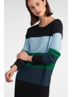 colour blocking jurk 21001538 sandwich jurk 80041