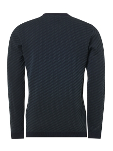 jacquard crewneck pullover 92210821 no-excess trui 157 dk seagreen