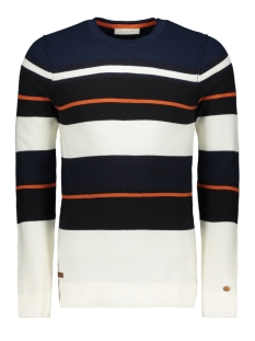 Cast Iron Trui COTTON STRIPE CREWNECK CKW196405 2114
