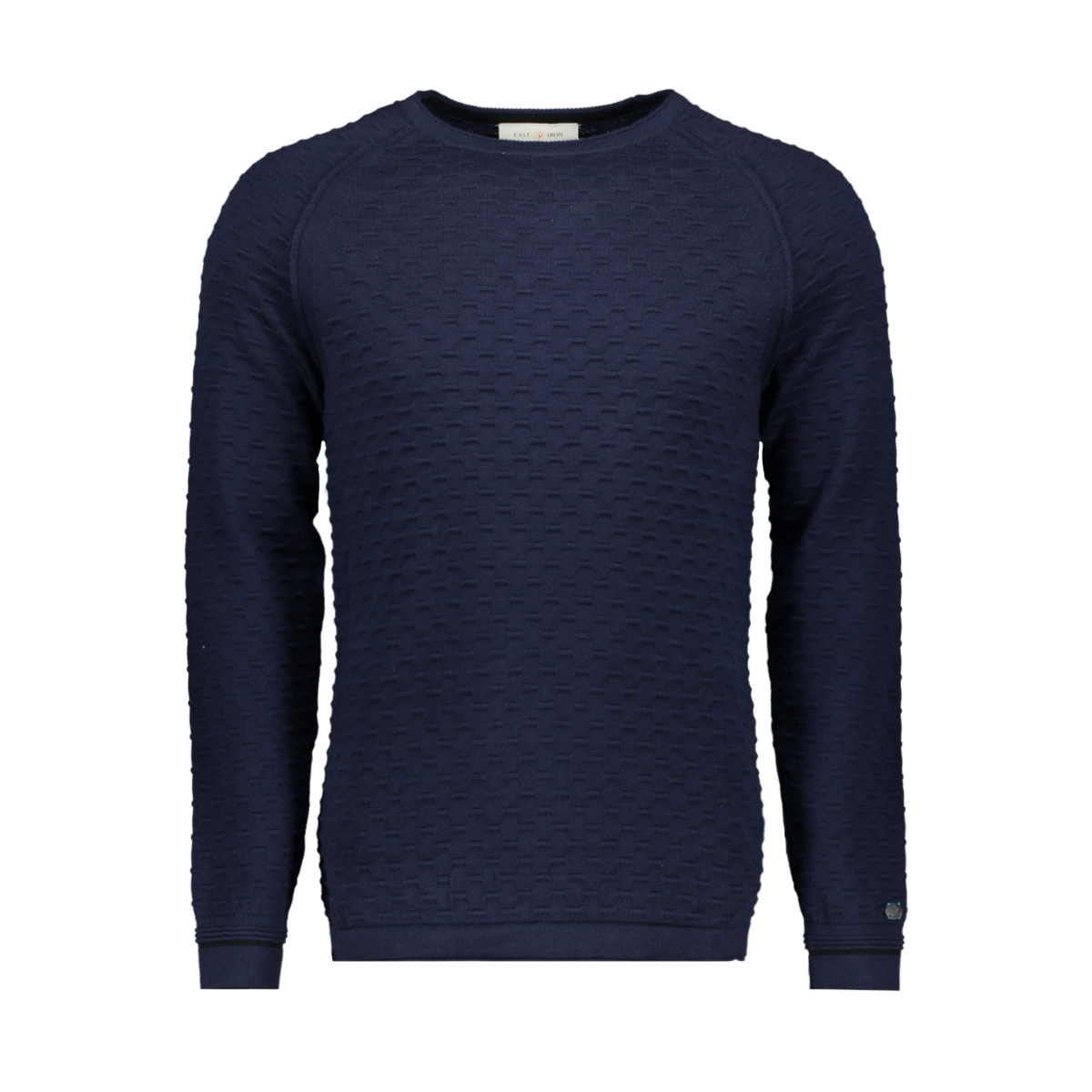 cotton structure crewneck ckw196408 cast iron trui 5118