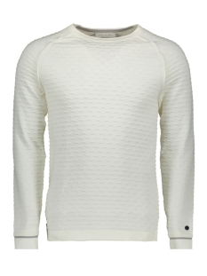 cotton structure crewneck ckw196408 cast iron trui 7001