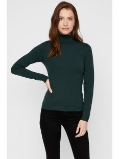 vmhappy basic ls rollneck blouse bo 10215443 vero moda trui ponderosa pine