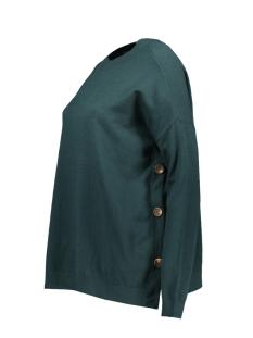 vmchou karis ls o-neck button blous 10215206 vero moda trui ponderosa pine