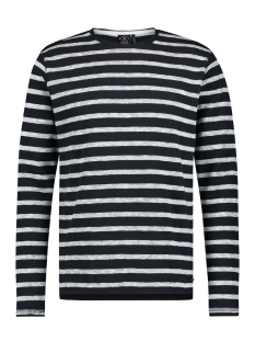 Kultivate Trui LS WINTER STRIPES 1901040603 319 Dark Navy