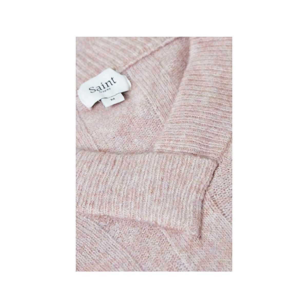 knit pullover v neck l s 30501476 saint tropez trui 7364
