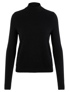 vmkaris ls highneck blouse rep boo 10215862 vero moda trui black