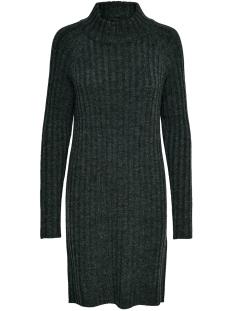 Only Tuniek ONLNEW MIRAMAR L/S DRESS KNT 15187648 Dark Grey Melange