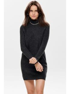 onlnew miramar l/s dress knt 15187648 only trui dark grey melange