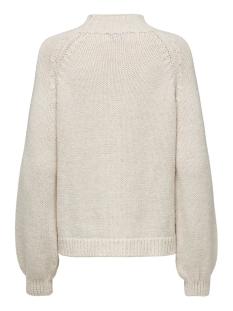 onlfreyah l/s pullover knt 15183905 only trui whitecap gray/w. melange