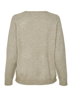 onllesly kings l/s pullover knt noo 15170427 only trui beige/w. melange