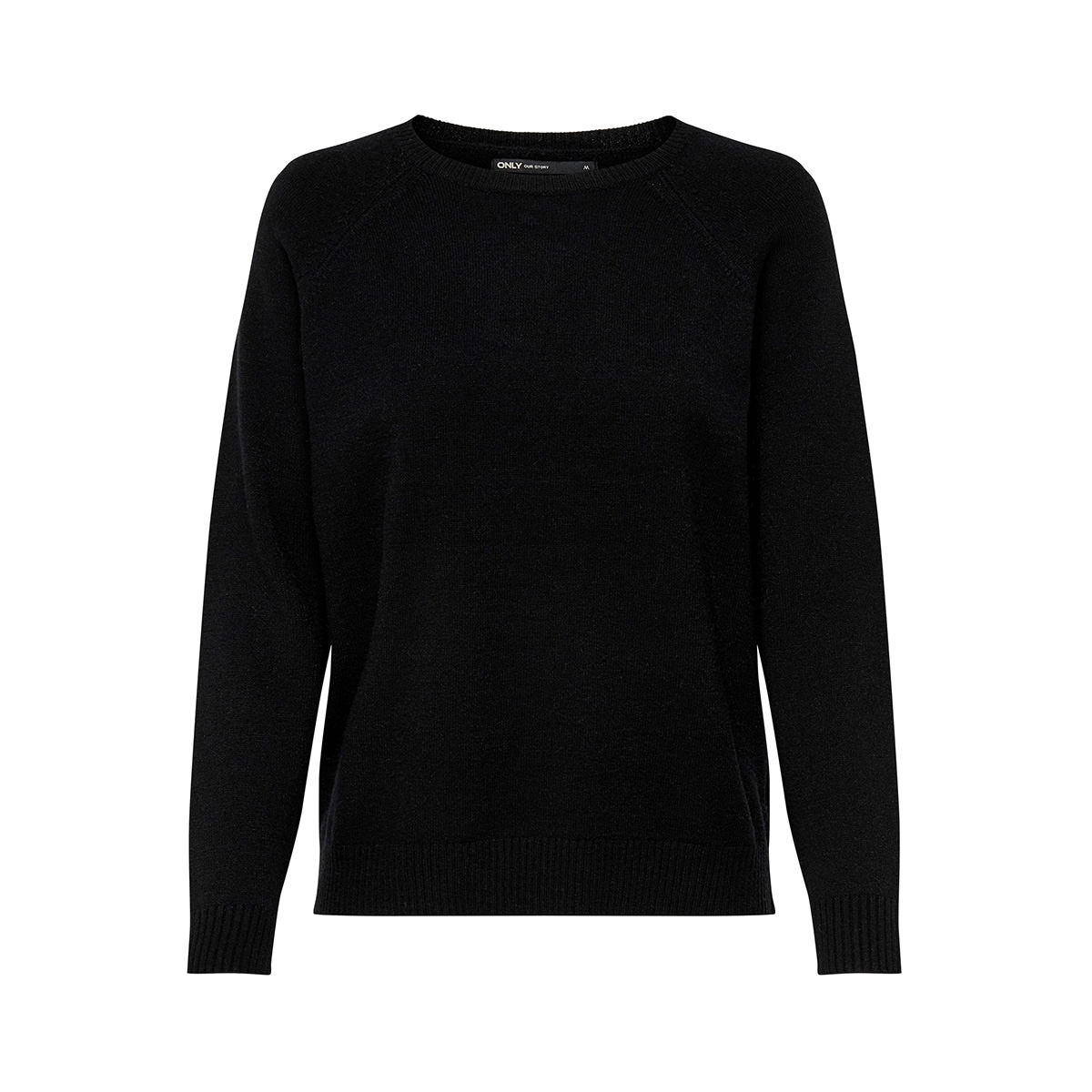 onllesly kings l/s pullover knt noo 15170427 only trui black