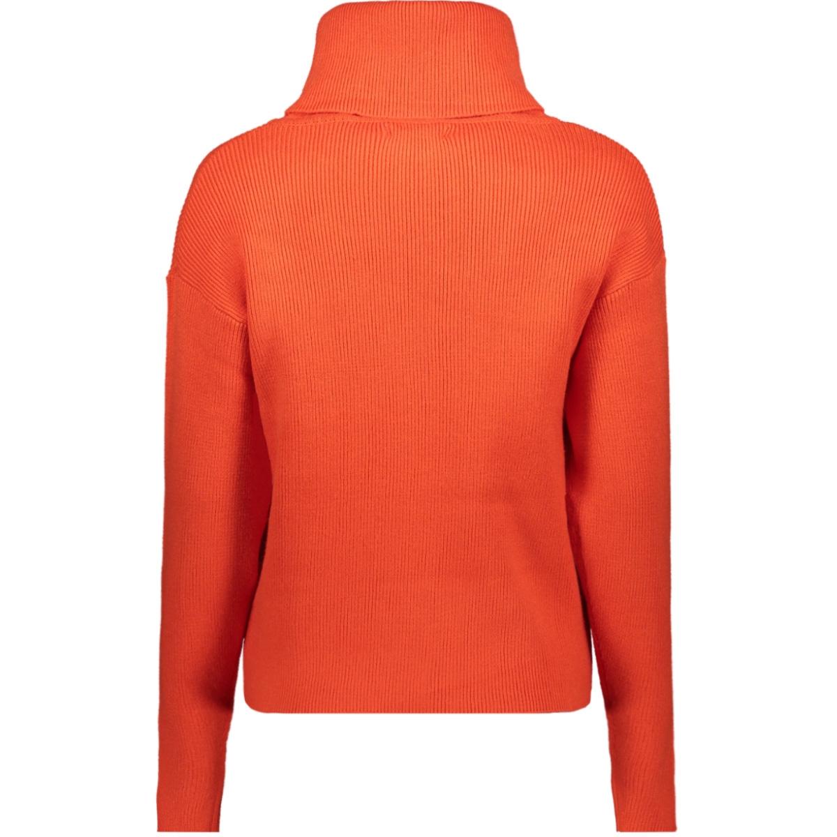 trui met colkraag j90242 garcia trui 1220 red orange