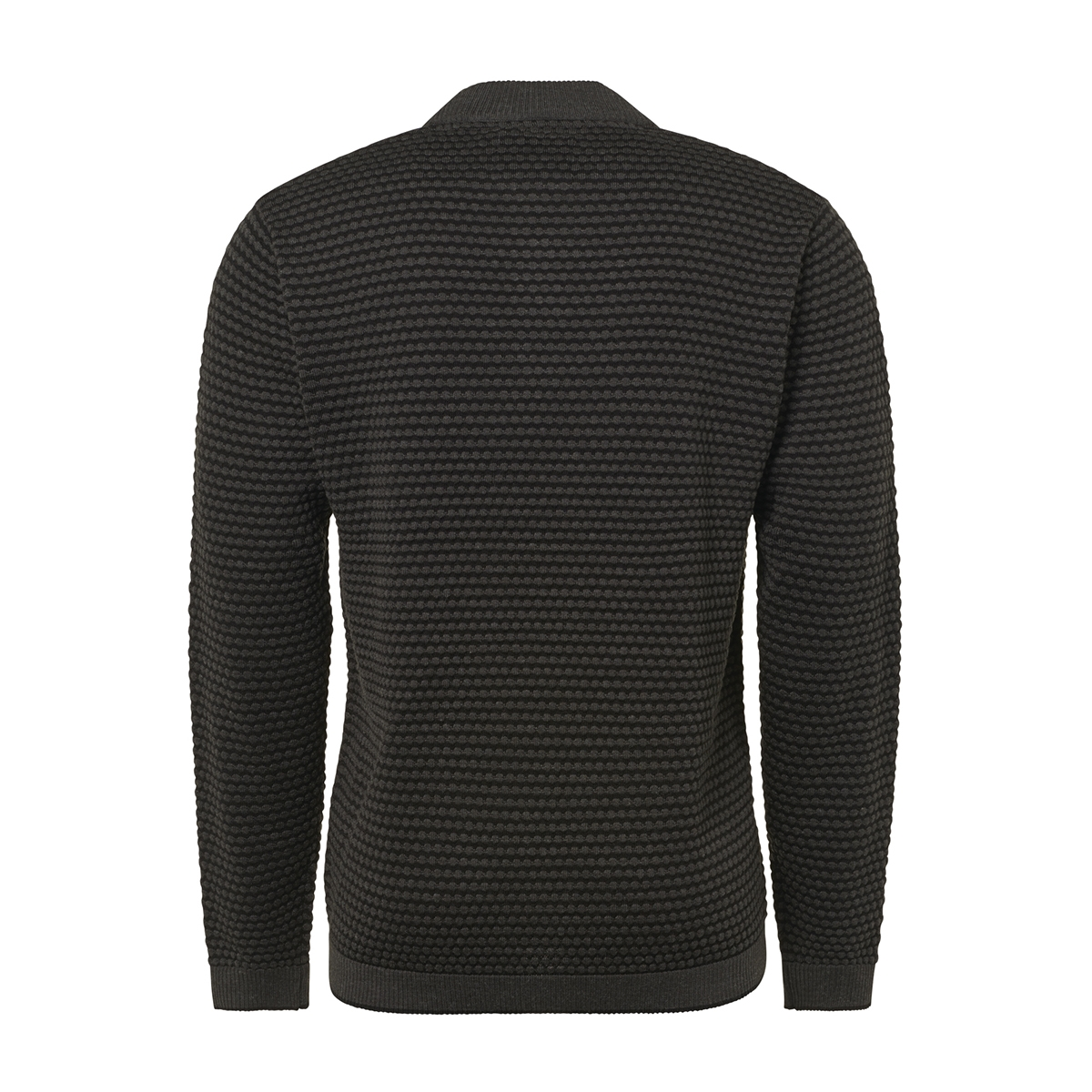 half zip jacquard pullover 92210928 no-excess trui 103