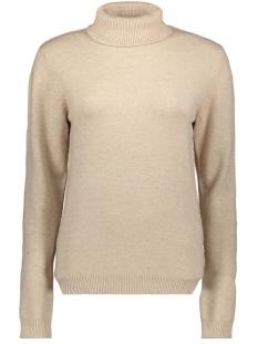 jdymarco l/s rollneck pullover knt 15189025 jacqueline de yong trui beige/melange