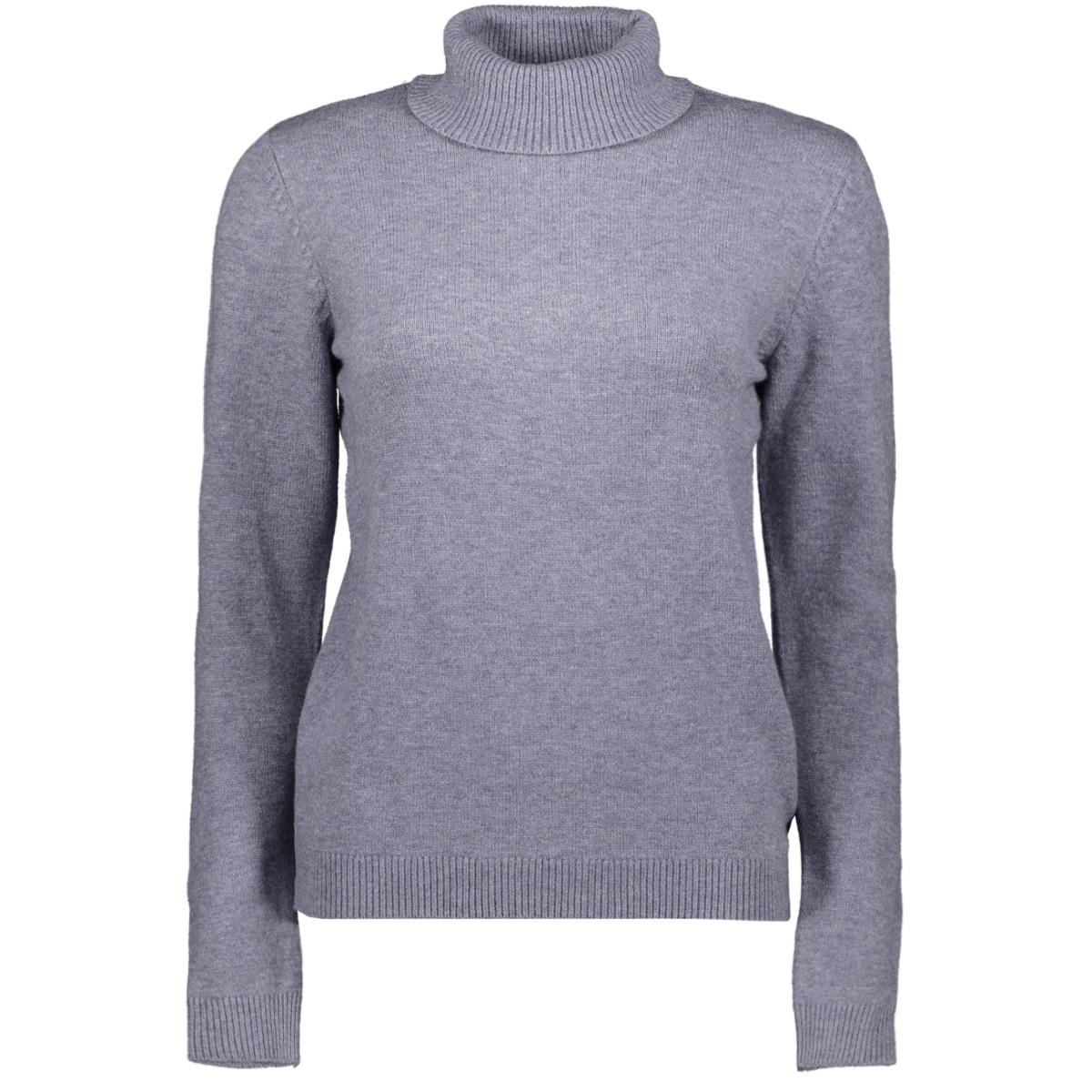 jdymarco l/s rollneck pullover knt 15189025 jacqueline de yong trui sky captain/melange