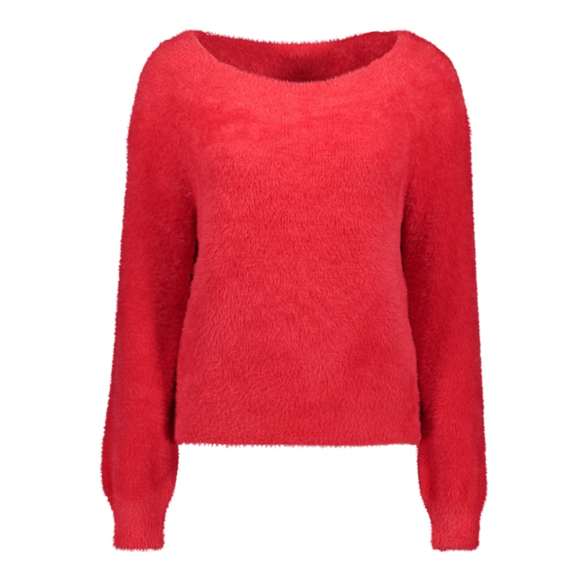 onlbisan l/s off shoulder  pullover 15183732 only trui chinese red