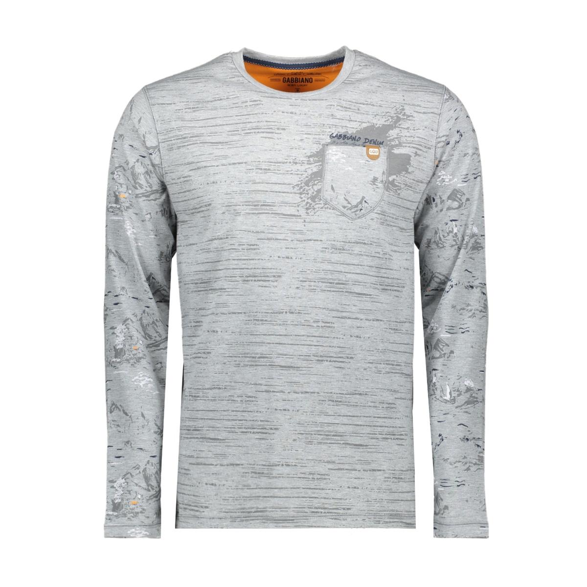 13847 gabbiano t-shirt grey