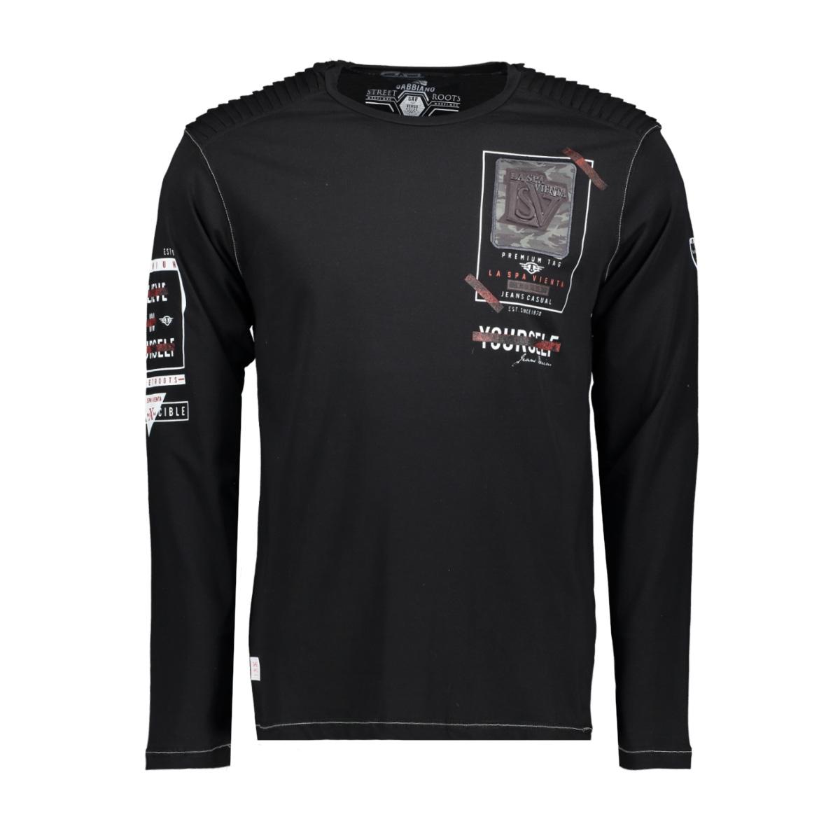 gabbiano t shirt 13857 gabbiano t-shirt black