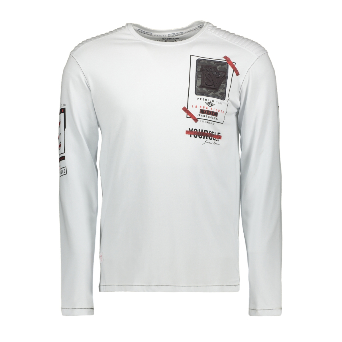 13857 gabbiano t-shirt white