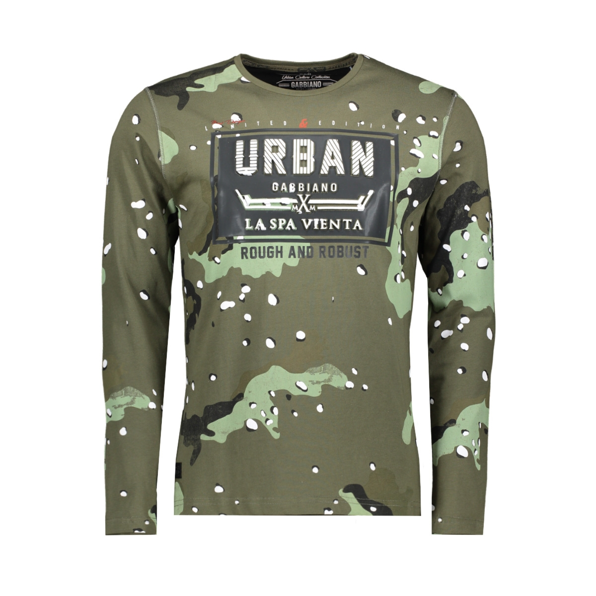 13858 gabbiano t-shirt army