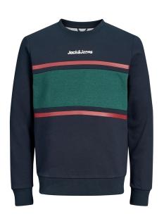 Jack & Jones sweater JORCAINE SWEAT CREW NECK 12161871 Navy Blazer/SLIM