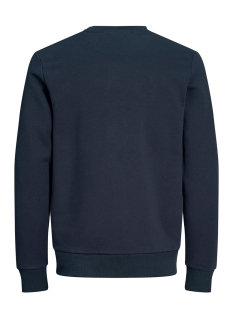 jorcaine sweat crew neck 12161871 jack & jones sweater navy blazer/slim