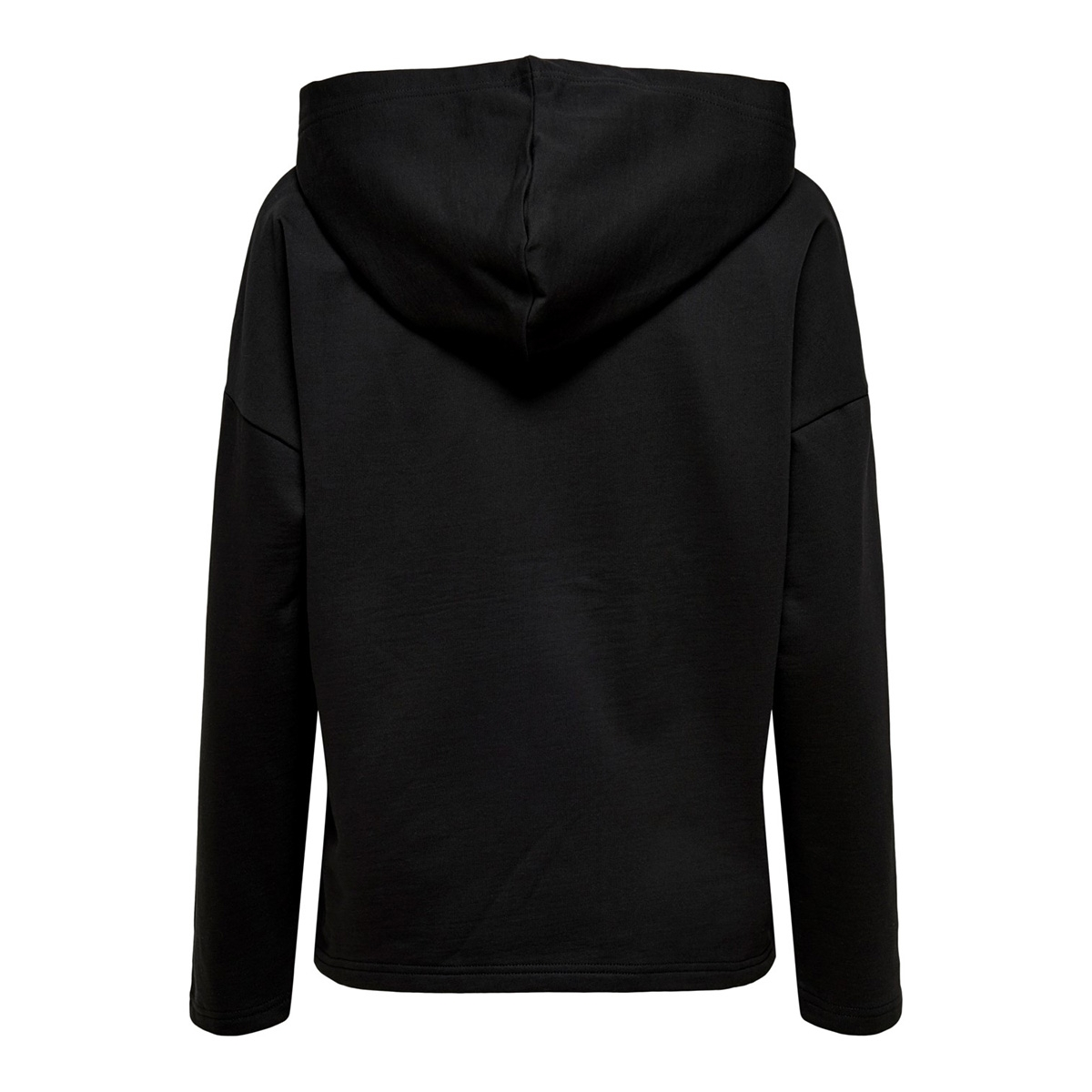 onlclementine l/s hood jrs 15204699 only sweater black/rebelious