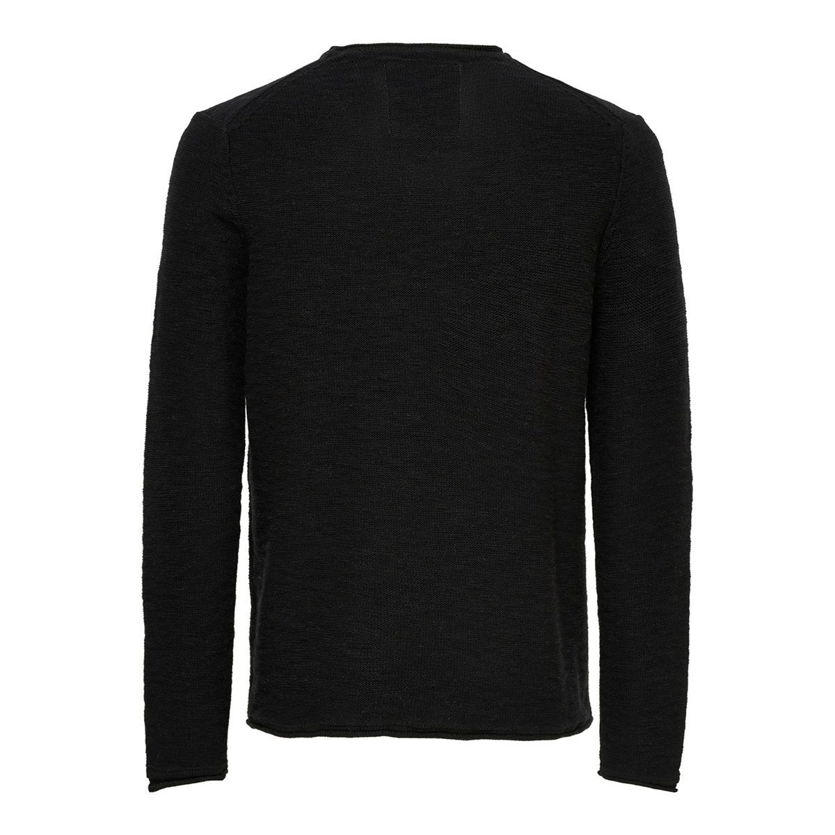 onsbace crew neck knit sl 4282 22014282 only & sons trui black