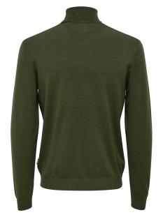onsmikkel 12 high neck knit 22014110 only & sons trui darkest spruce