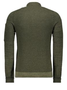 cotton mouline slub cardigan ckc197441 cast iron vest 6153