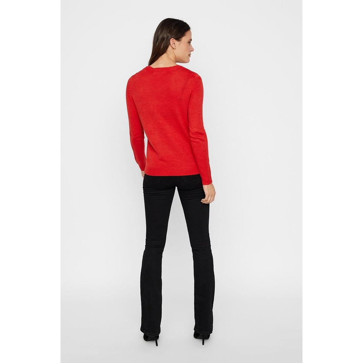 vmelfie girl ls blouse nvl pi 10219213 vero moda trui chinese red