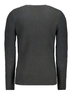 onssato 7 multi clr knit noos 22007296 only & sons trui insignia blue/melange
