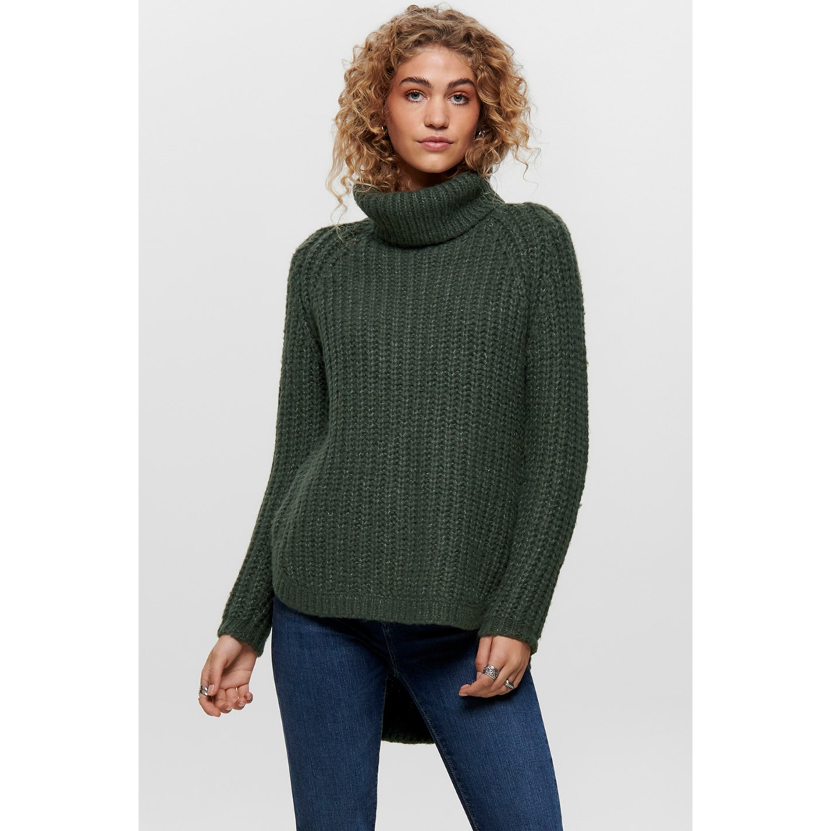 onlmella l/s rollneck knt 15185258 only trui beluga