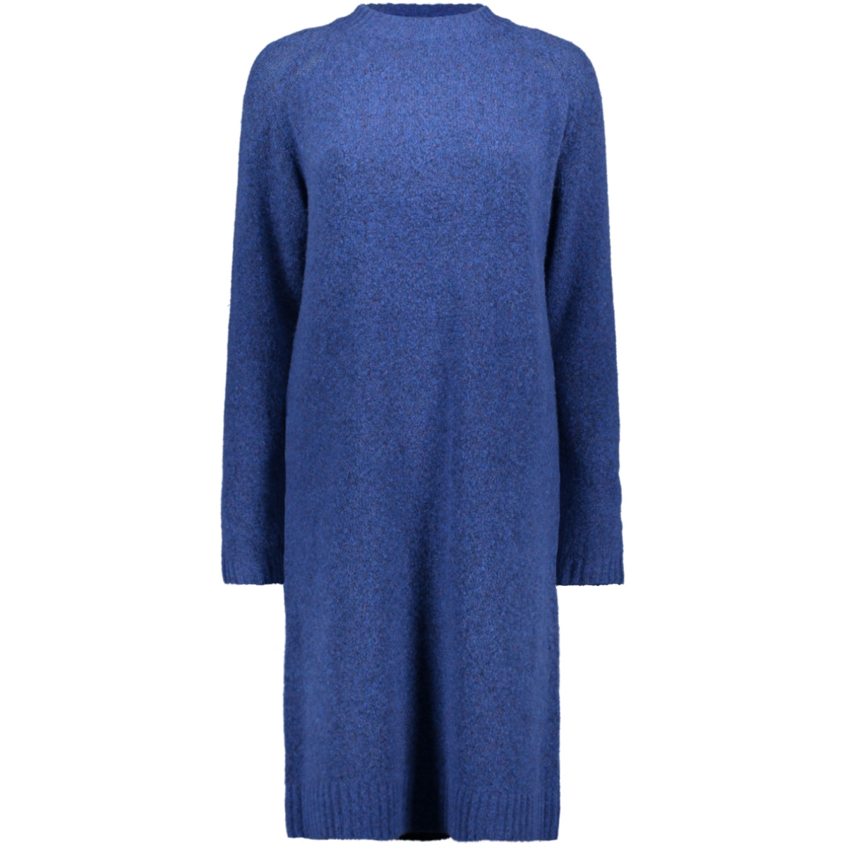 cocoon jurk gemeleerd 21001543 sandwich jurk 40026