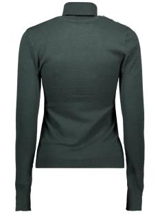 vmhappybutton ls rollneck blouse 10226875 vero moda trui ponderosa pine/w. silver