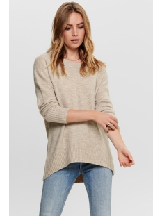 onlnanjing l/s pullover knt noos 15173800 only trui nomad/w. melange