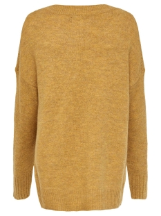 onlnanjing l/s pullover knt noos 15173800 only trui golden yellow/w. melange