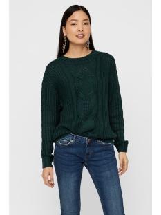 vmpresley alpine ls o-neck blouse b 10217786 vero moda trui ponderosa pine