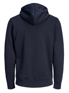 jcocarving sweat hood 12162132 jack & jones sweater sky captain