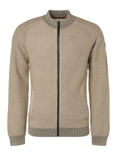 NO-EXCESS Vest FULL ZIP RAGLAN CARDIGAN 93231012 015 Sand