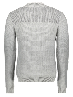 half zip button pullover 93231010 no-excess trui 017 chalk