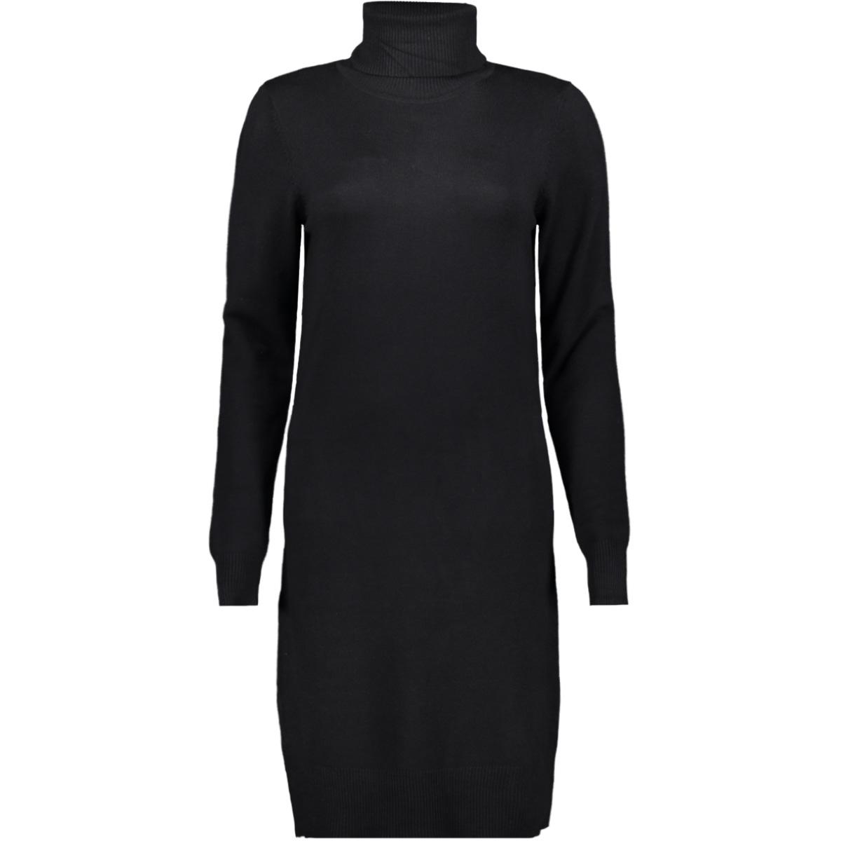knit dress l s high neck u6801 30501696 saint tropez jurk 0001