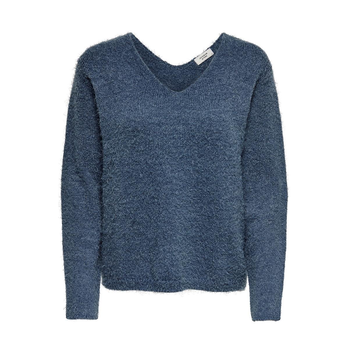 jdycheer l/s v-neck pullover knt 15190300 jacqueline de yong trui bering sea