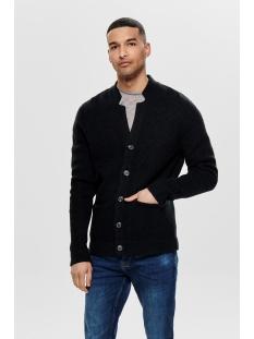 onslazlo 7 struc card knit reg 22013454 only & sons vest dress blue
