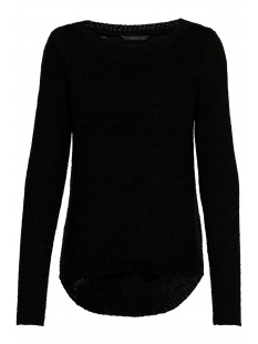 onlgeena xo l/s pullover knt noos 15113356 only trui black
